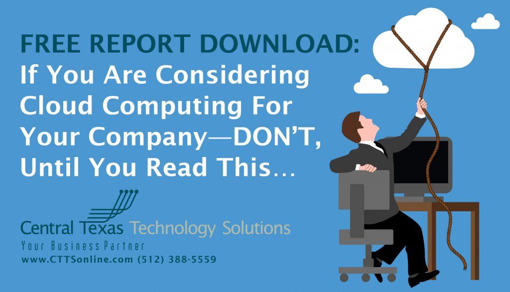 Business Cloud Computing Georgetown TX