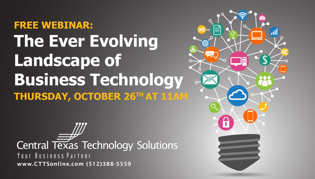 FREE Technology Webinar