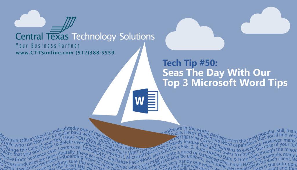 Microsoft Word Tips Georgetown TX