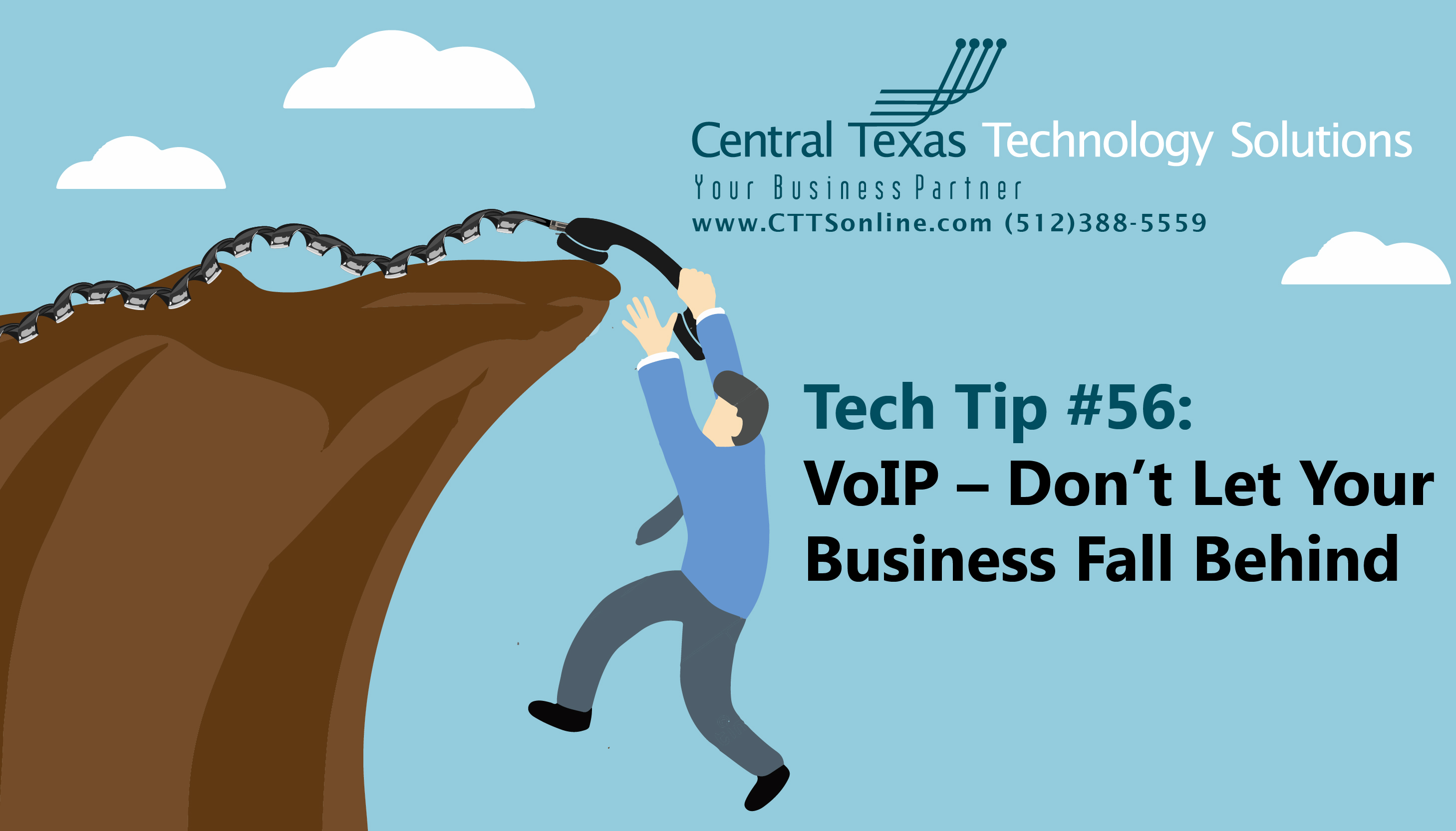 Tech Tip 56 Voip Dont Let Your Business Fall Behind