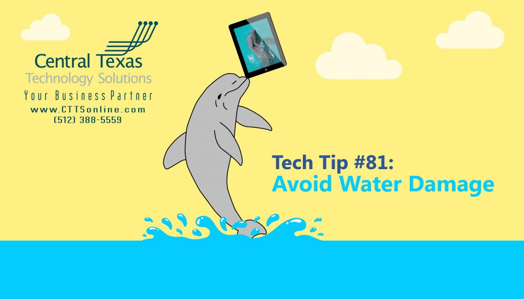 iPad water damage Georgetown TX