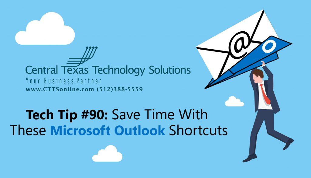 Outlook shortcuts Georgetown tX