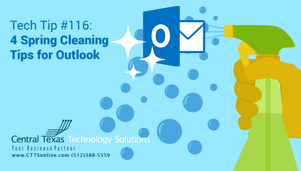 Outlook Spring Cleaning