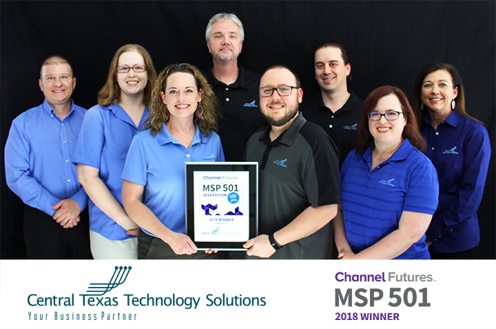 Managed Service Provider 501 Awarded to CTTS