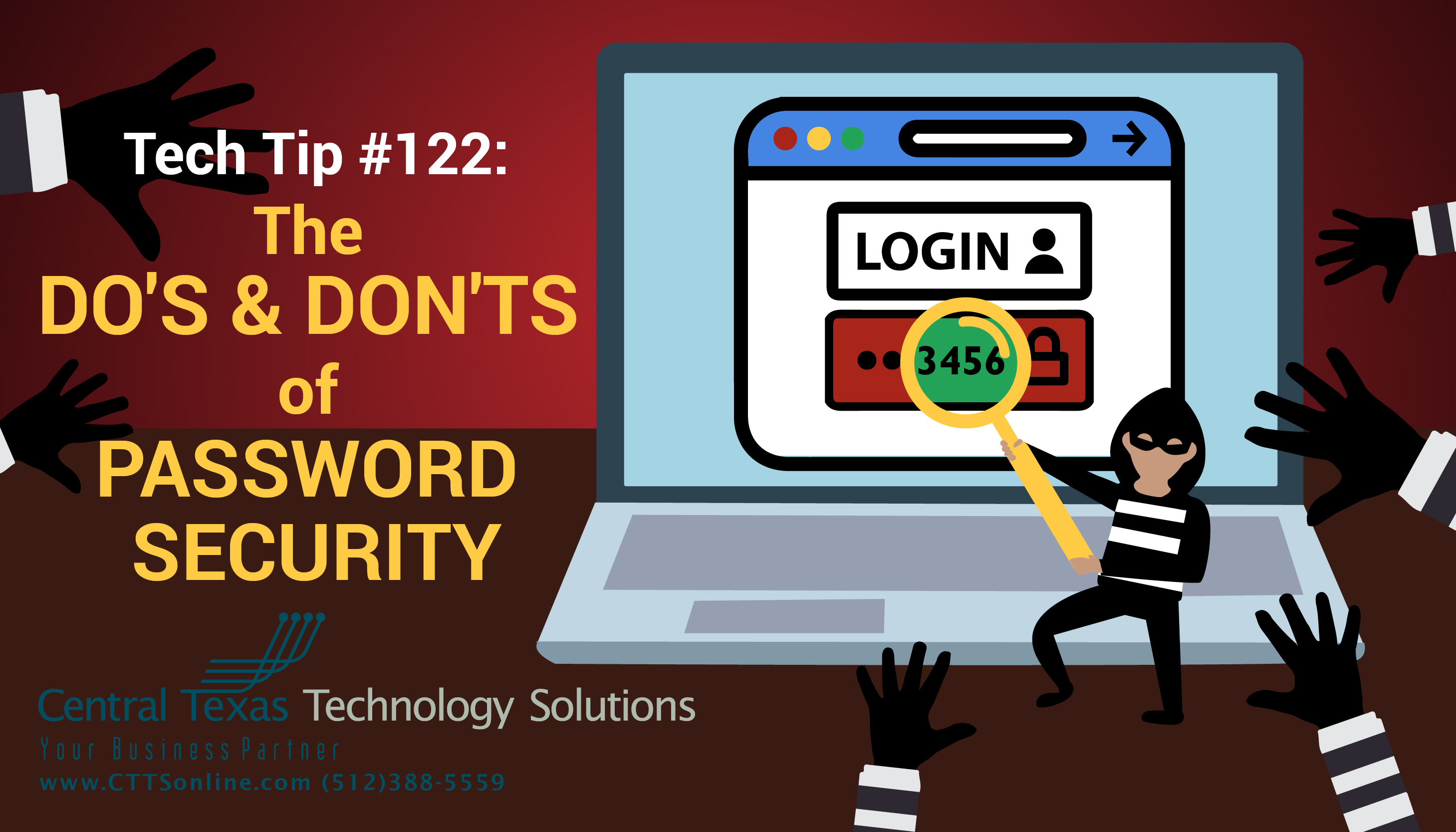 business employee password security Georgetown TX