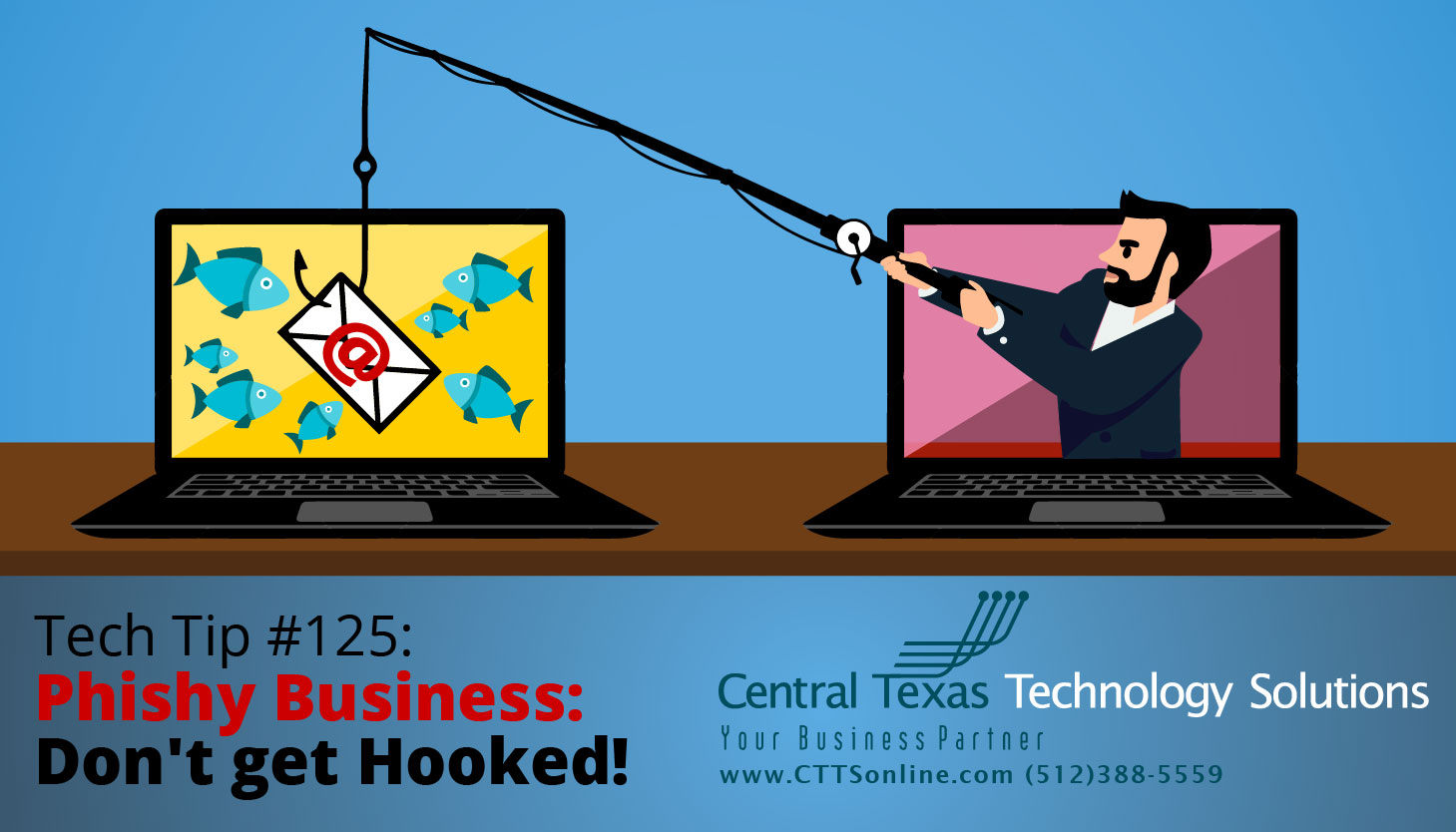 avoid phishing business emails Georgetown TX