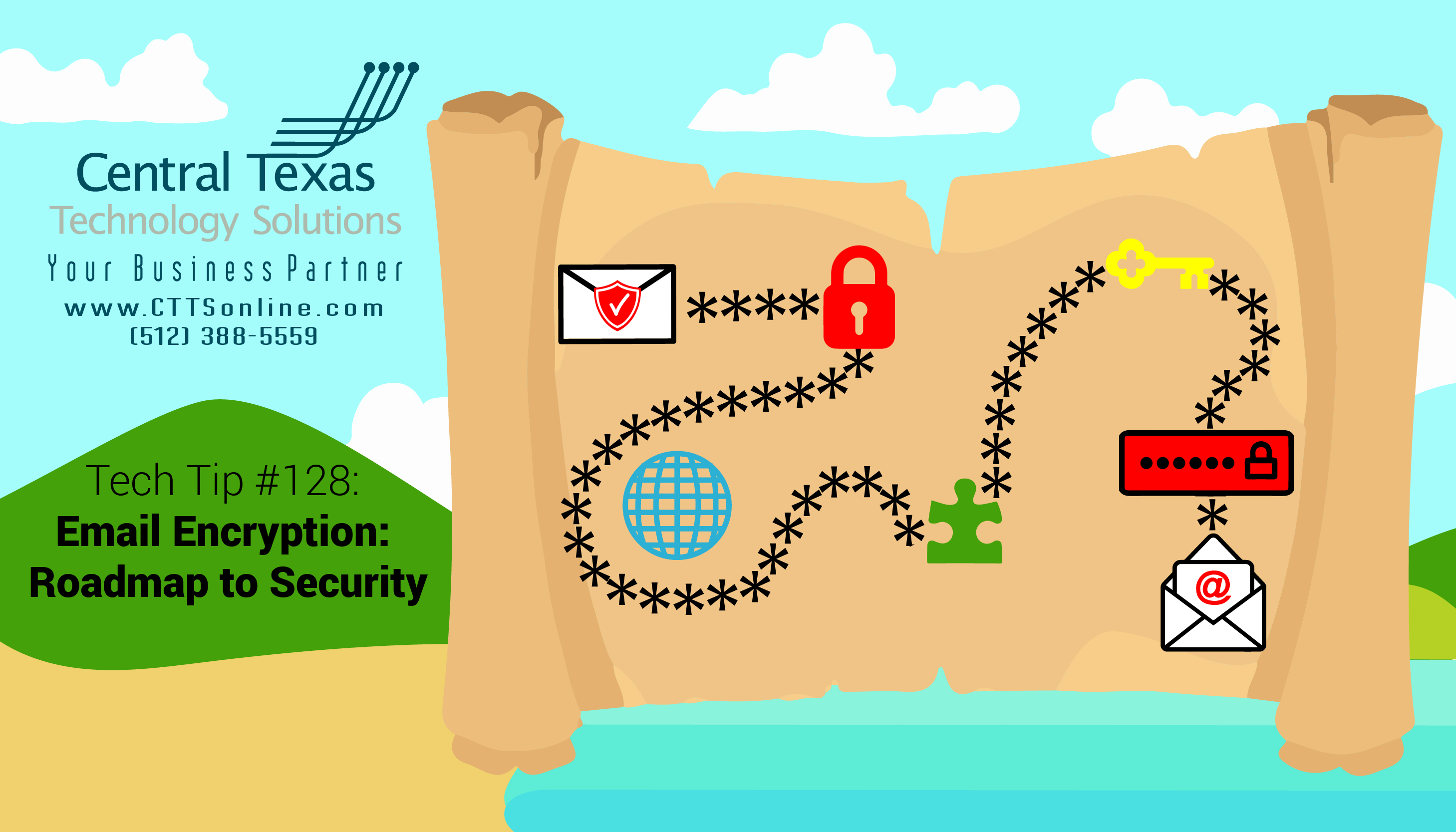 email encryption and security roadmap Georgetown TX