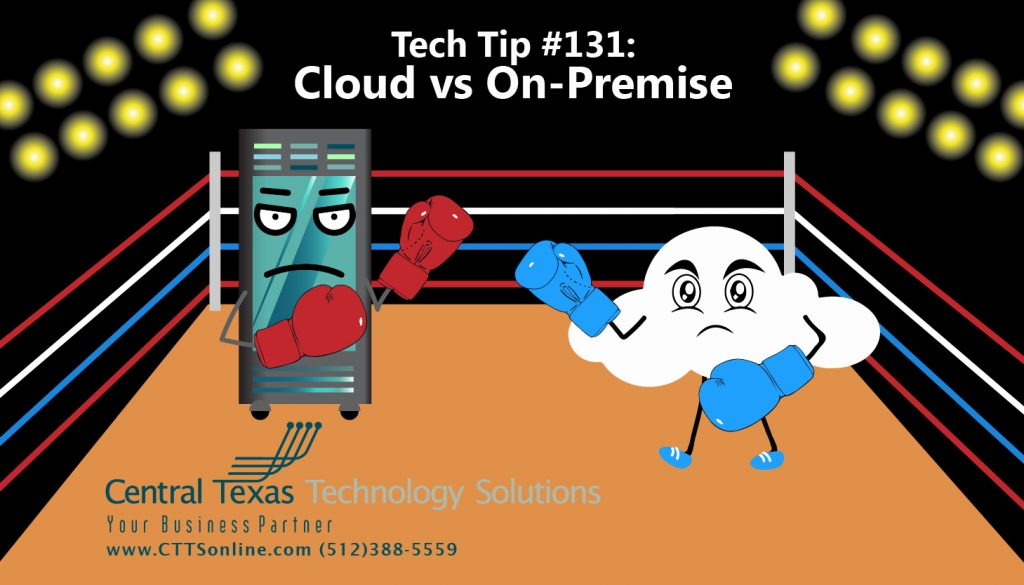 cloud server business data resource Georgetown TX