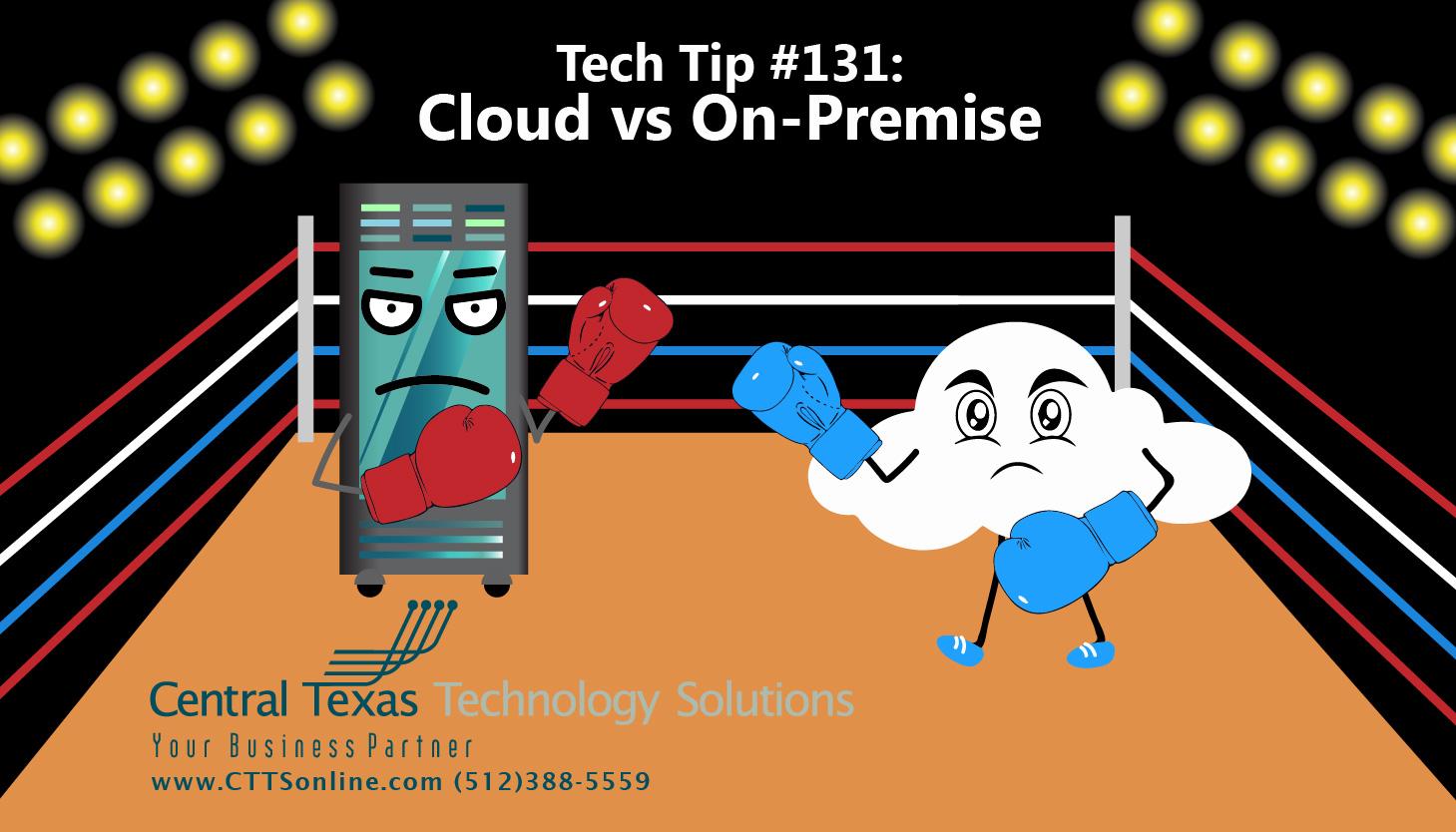 cloud vs data server Georgetown TX