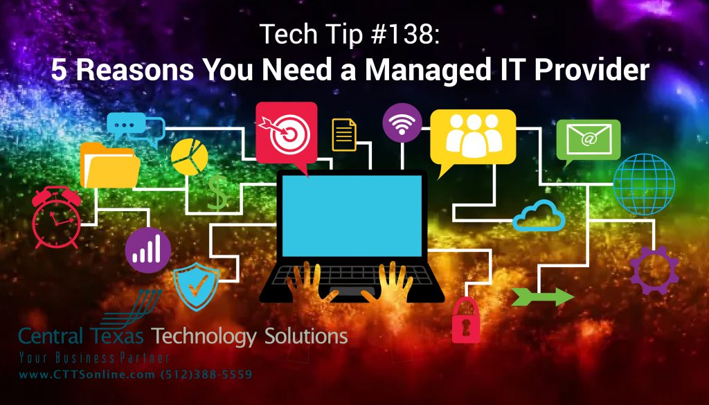 Managed IT Support for Business Georgetown TX