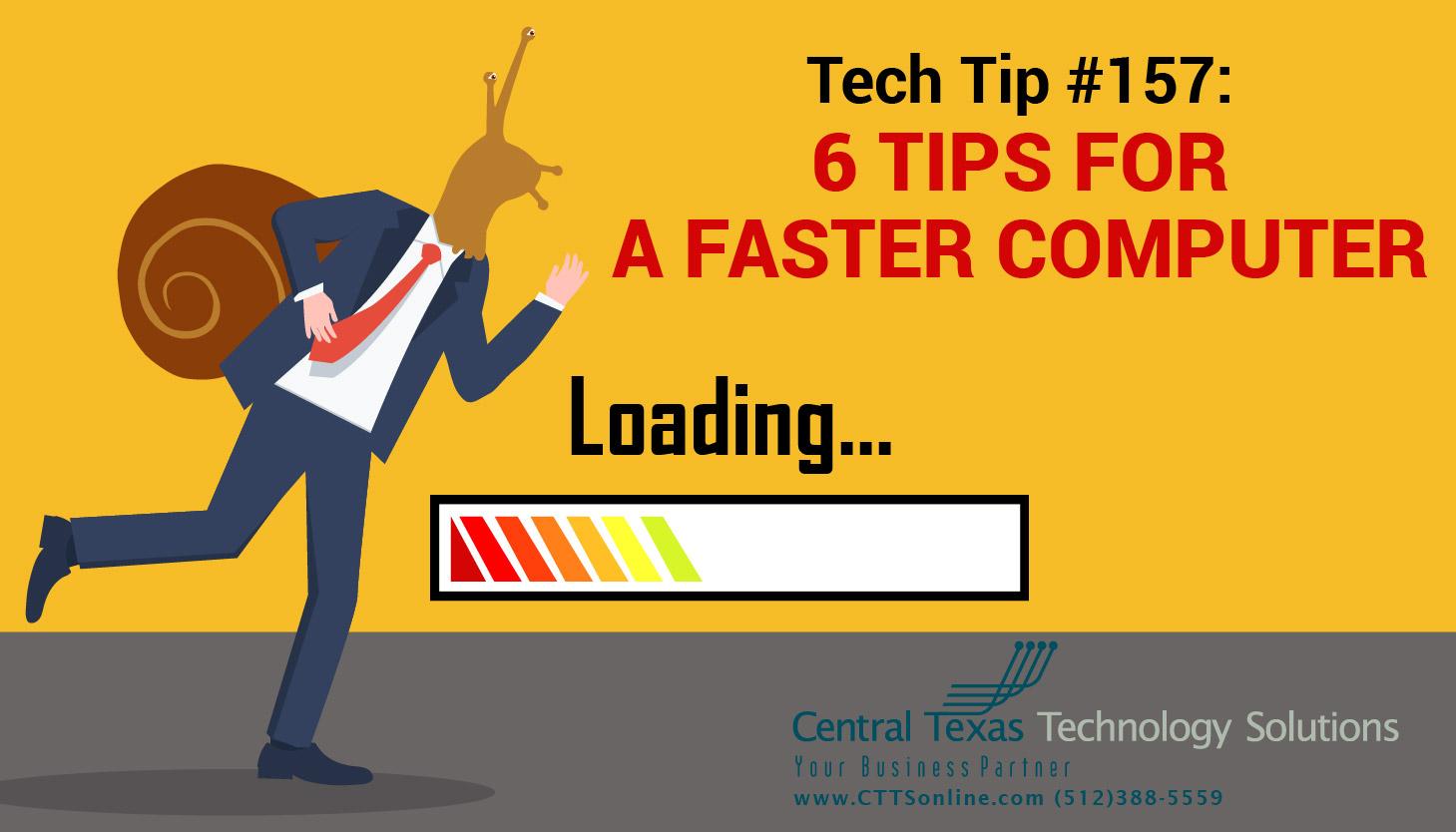 speed up computer Georgetown TX