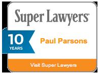 Paul Parsons P.C. Super Lawyer