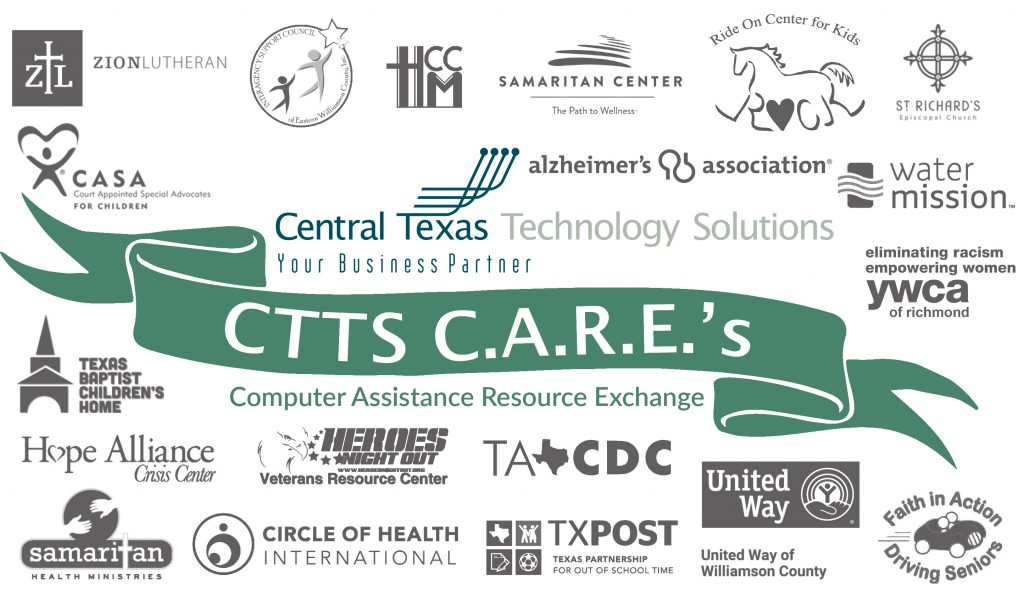 Computer Assistance Resource Exchange Nonprofit Donation Georgetown Texas