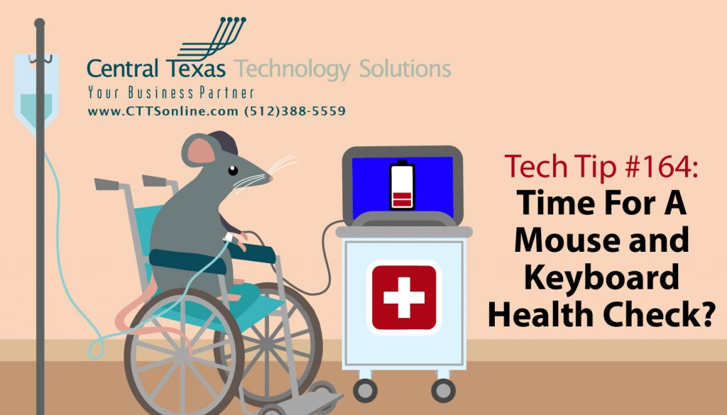 mouse and keyboard issues troubleshooting Georgetown TX