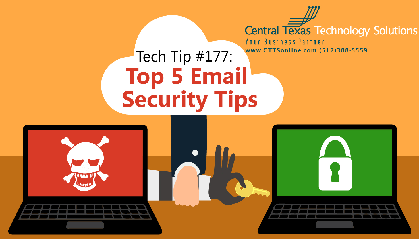 tips to keep your business proetcted form online threats