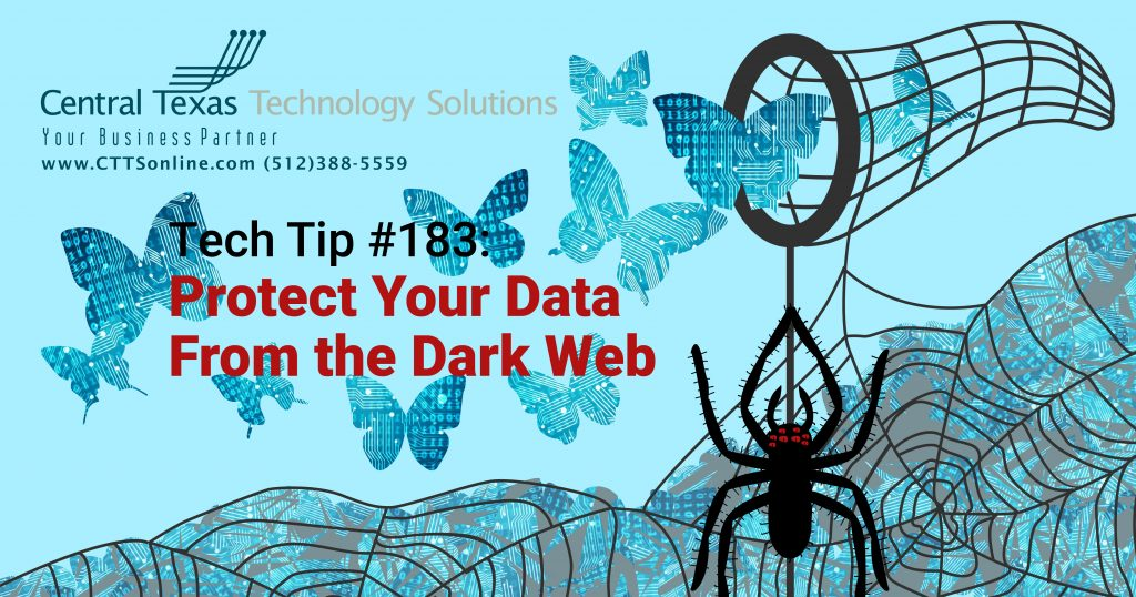 stop the dark web from stealing data