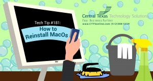 How to reinstall Mac OS georgetown TX