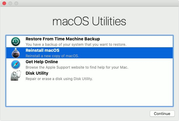 How to reinstall Mac OS