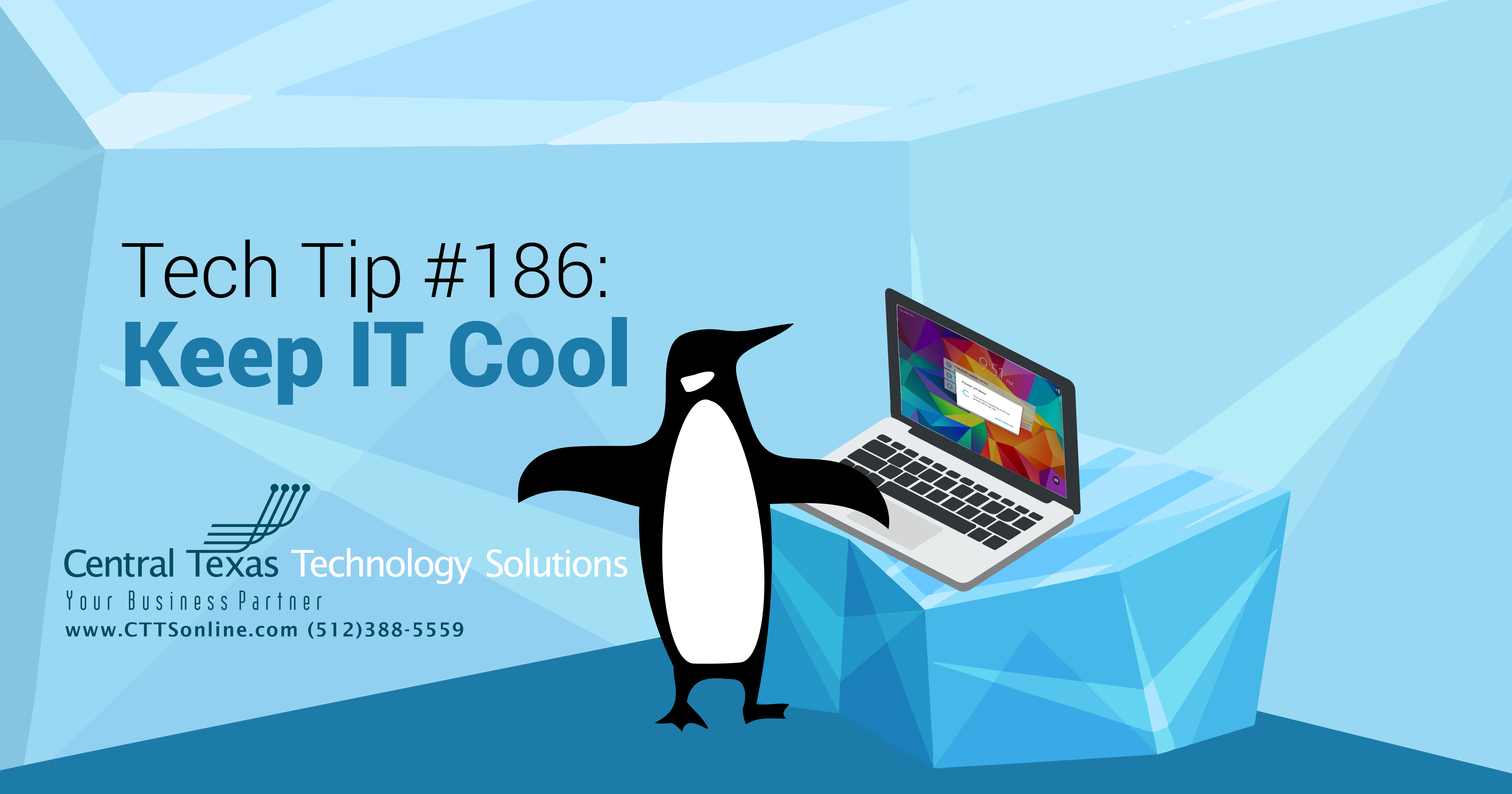 keeping computer cool IT penguin