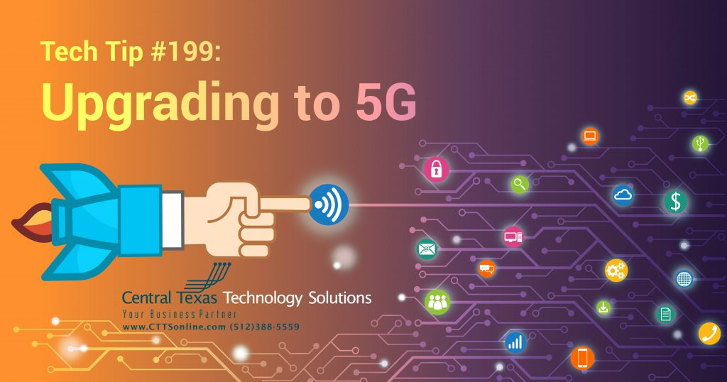 5G upgrades for Georgetown TX