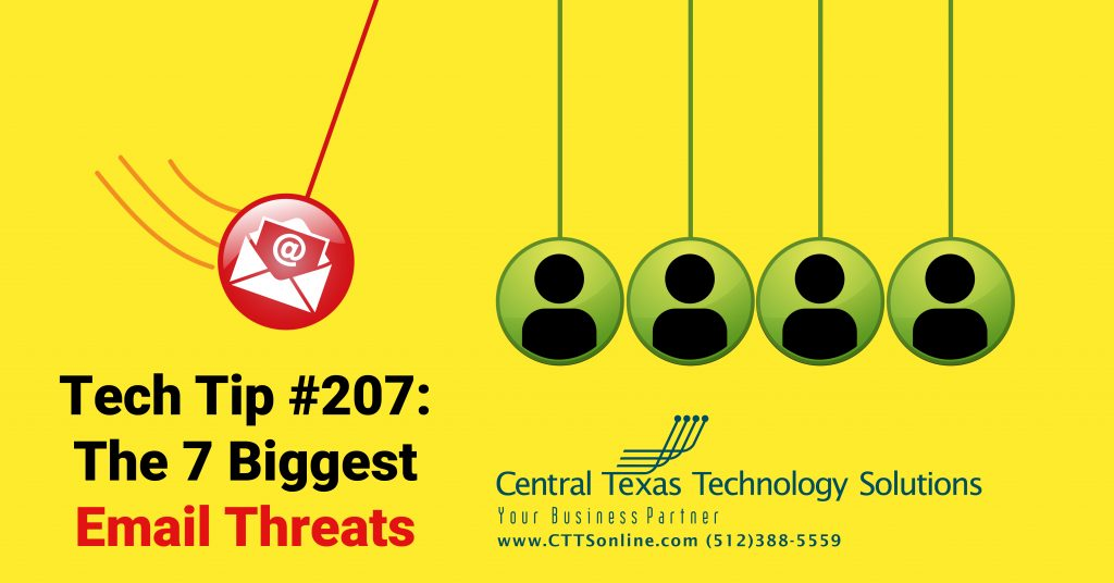 business email threats Georgetown TX