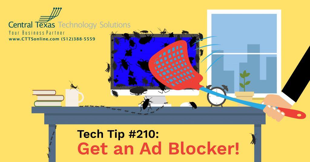 enjoy safe browsing by blocking ads